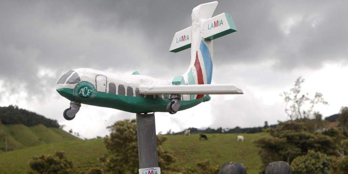 Como está atualmente o local onde caiu o avião da Chapecoense; veja