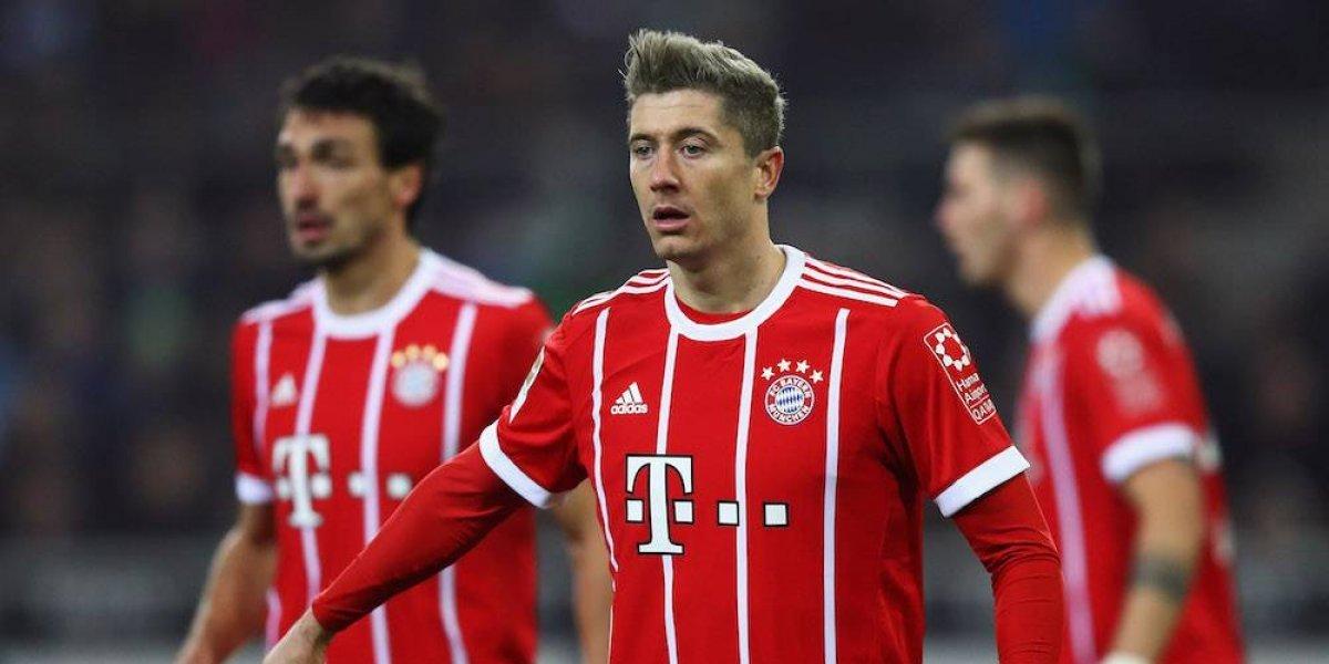 Lewandowski culpa a Ancelotti por las lesiones en el Bayern Munich