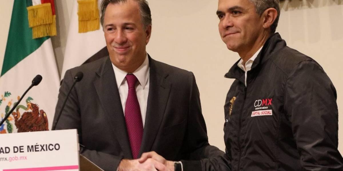 Delicado que con Meade nos espere el mismo país, critica Mancera