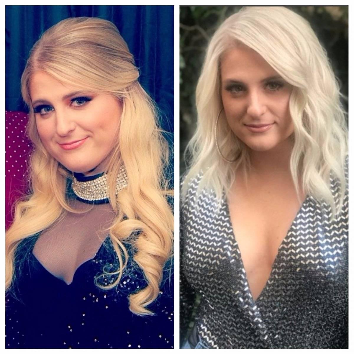 Meghan Trainor antes y después