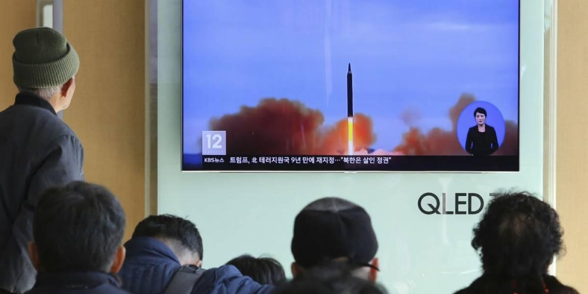 Norcorea confirma lanzamiento de misil capaz de alcanzar todo Estados Unidos