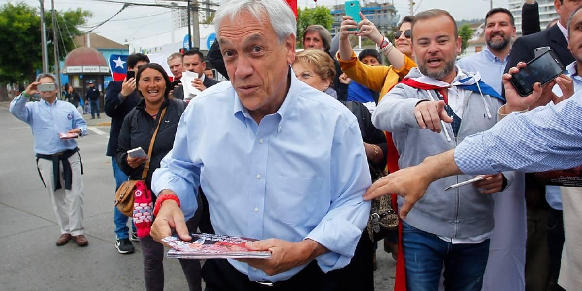 """""""Por la boca muere el pez"""": el troleo a Sebastián Piñera durante su visita a la Región de Valparaíso"""