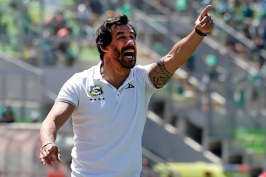 Pablo Sánchez, actual entrenador de Everton / Foto: Photosport