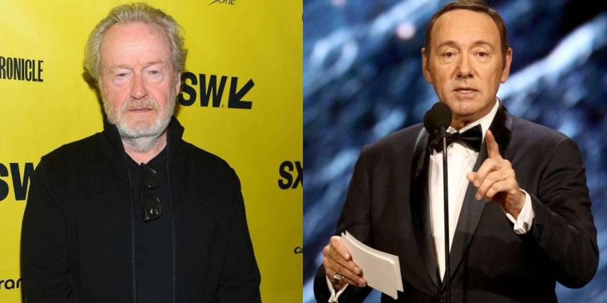 'Não se tolera esse comportamento', diz Ridley Scott sobre substituição de Kevin Spacey em filme