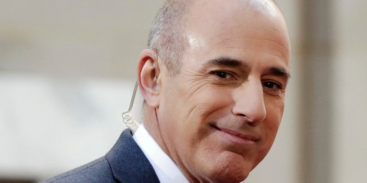 NBC News despide a Matt Lauer por conducta sexual inapropiada
