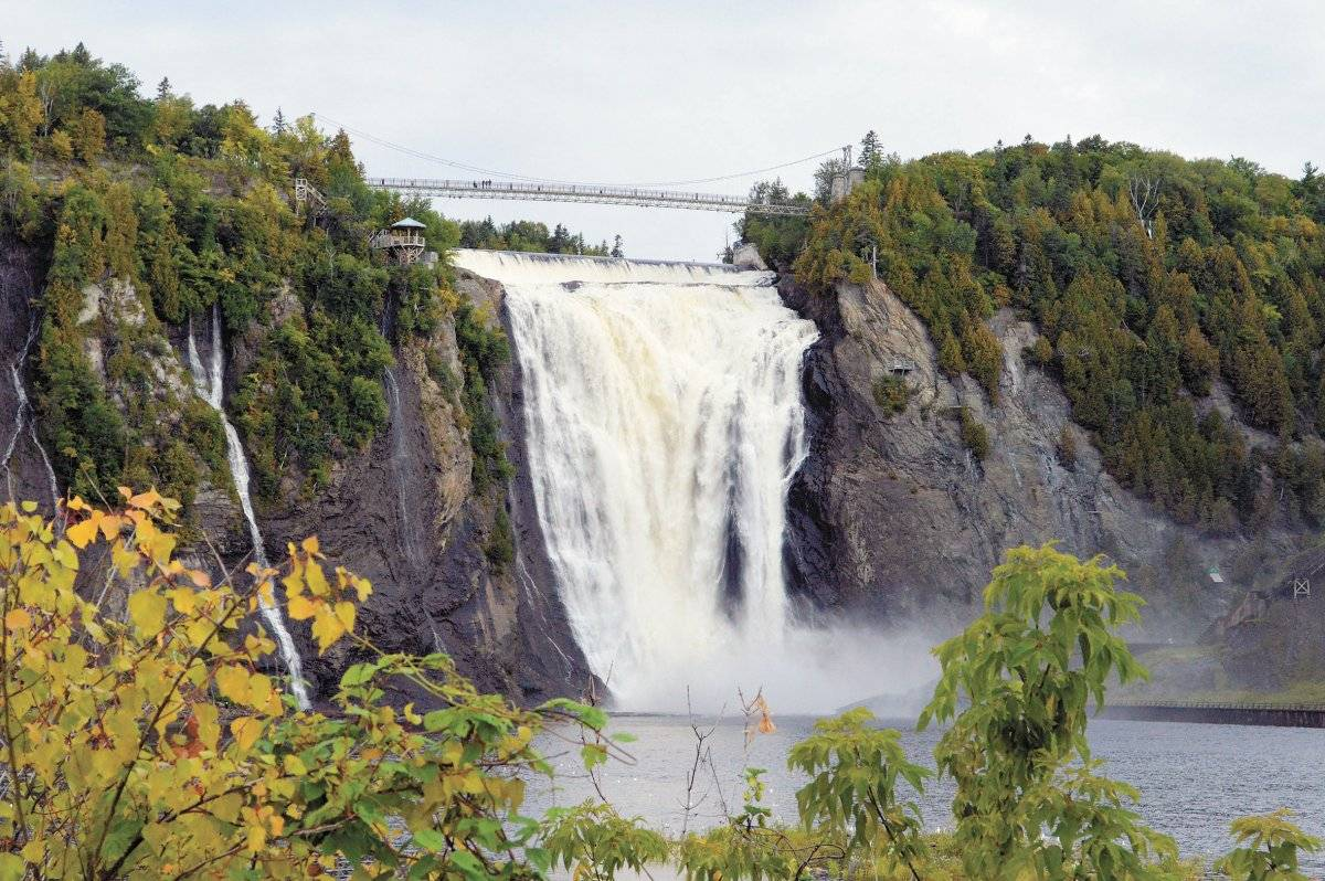 As cataratas de Montmorency