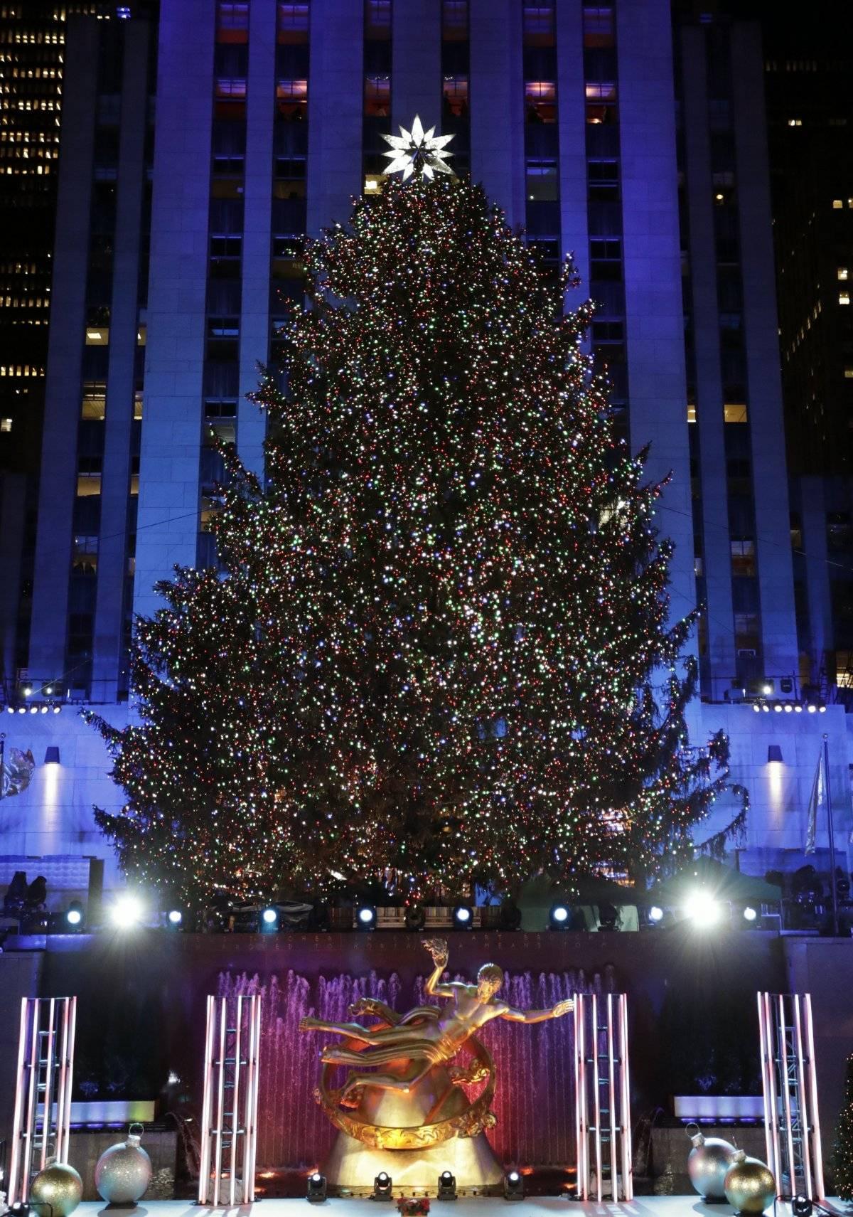árbol de Navidad Centro Rockefeller