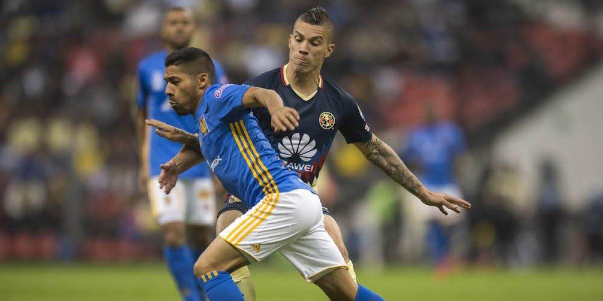 América cae ante Tigres en la ida de las semifinales