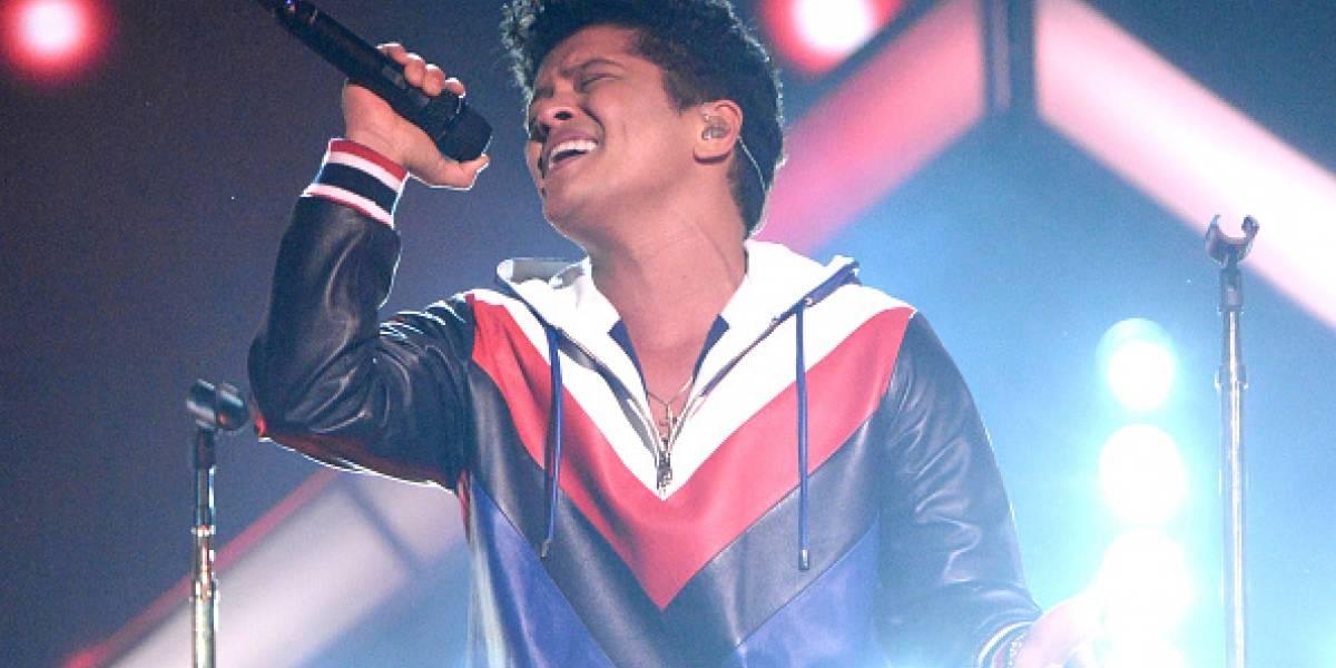 Todo listo para el concierto de Bruno Mars en Bogotá