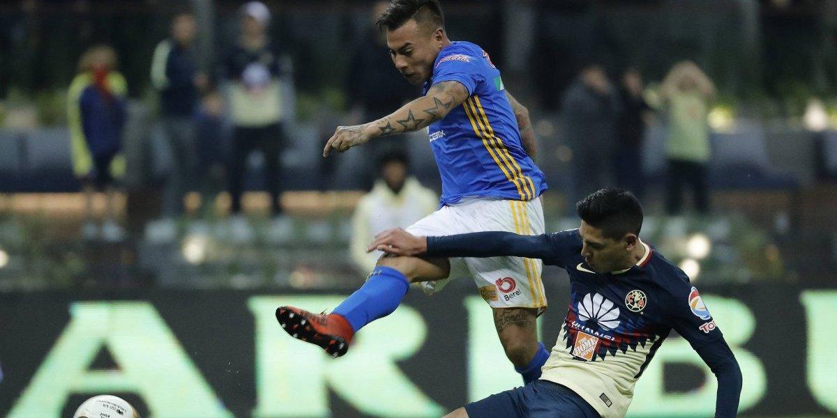 Eduardo Vargas quedó a un paso de la final en México tras vencer al América