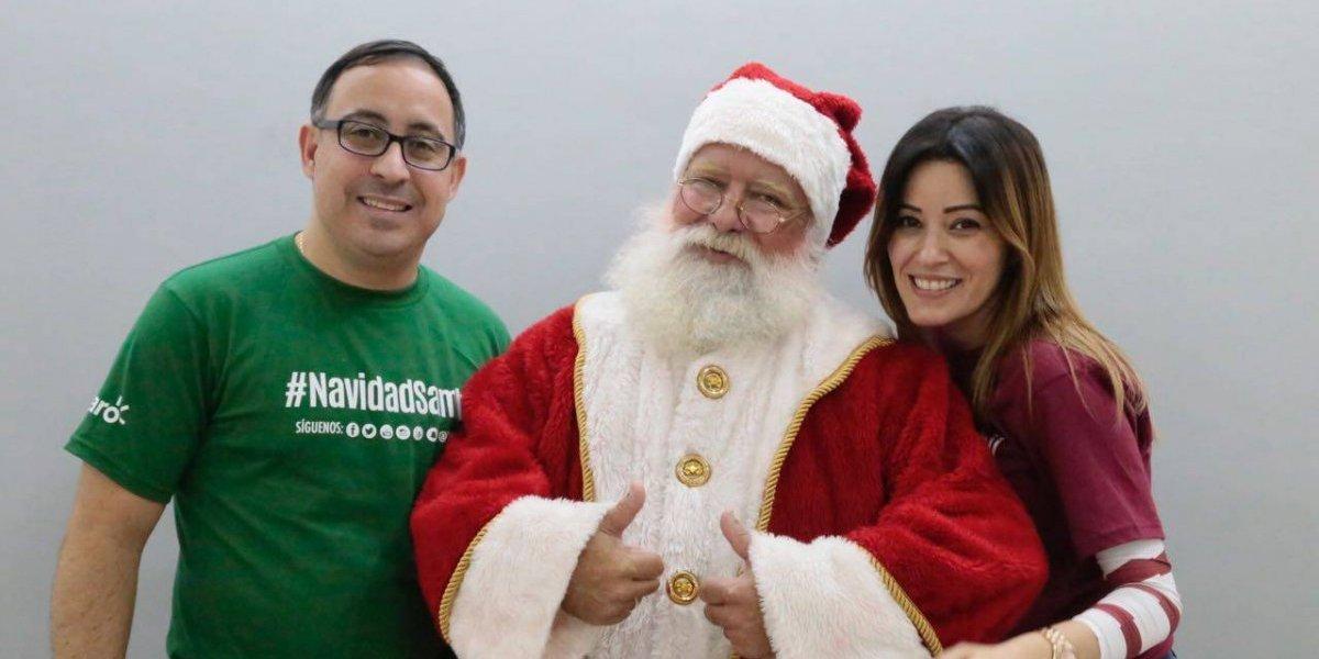 #TeVimosEn: Sambil enciende su árbol de Navidad