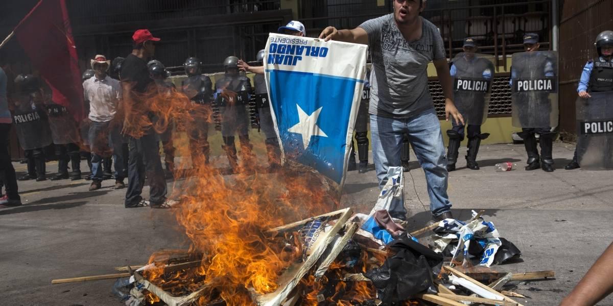 Entre violencia y tensión, Honduras espera los resultados de la elección presidencial
