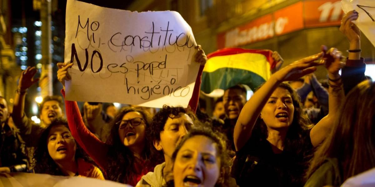 Repostulación de Morales genera ola de protestas en Bolivia