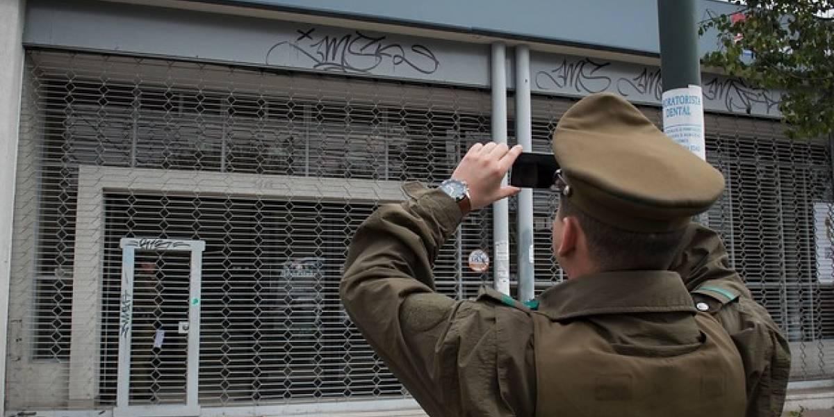Delincuentes roban sucursal de BancoEstado en Recoleta: se desconoce botín