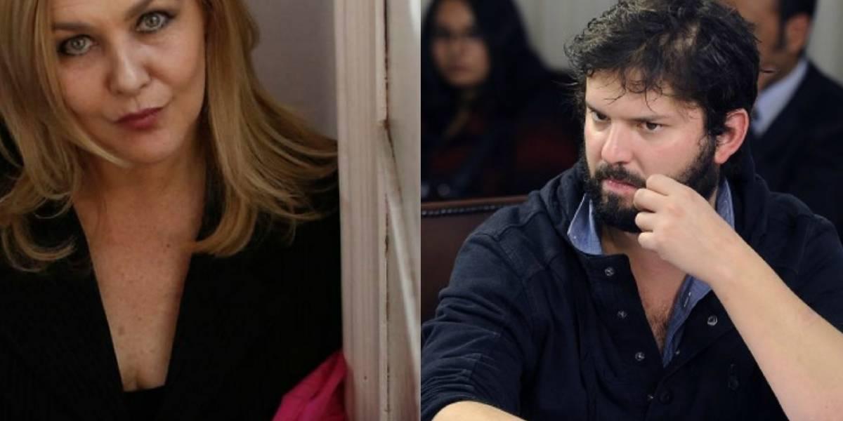"""""""Eres mi igual, con menos experiencia y más ínfulas"""": La dura pelea tuitera entre Pamela Jiles y Gabriel Boric"""