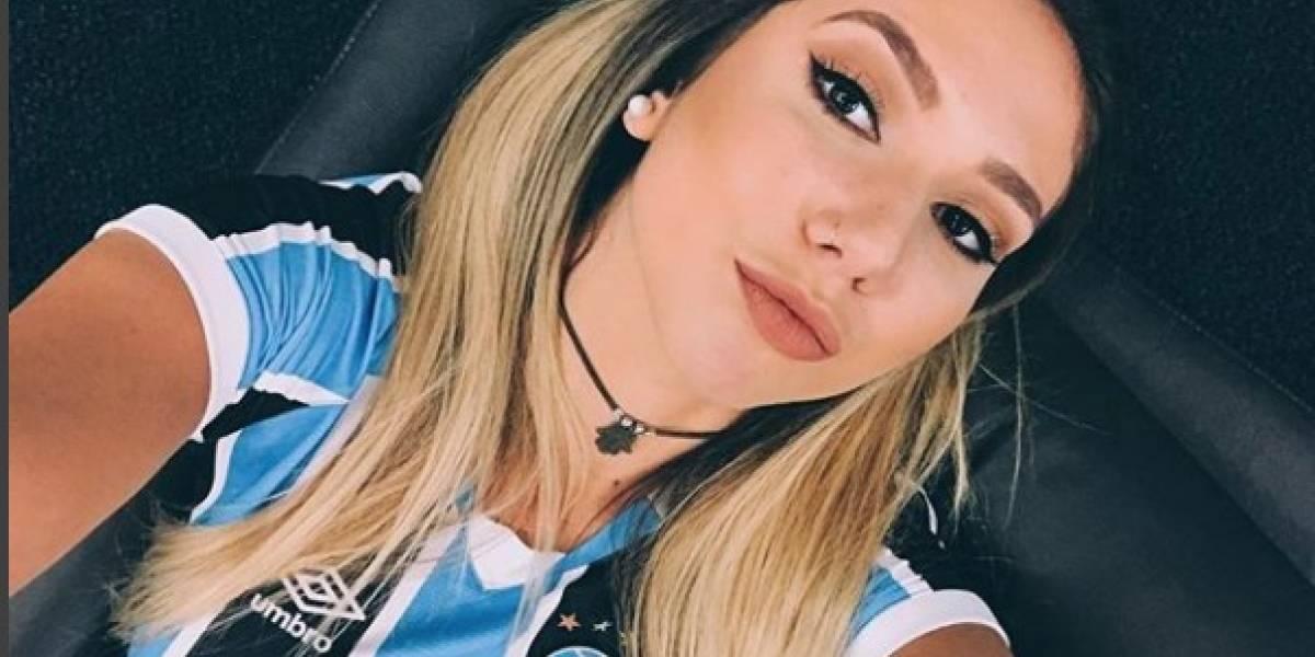 La hija del DT de Gremio impacta en redes con su belleza