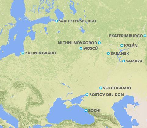 Cuántas horas le lleva Rusia a Colombia