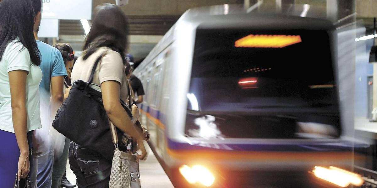 Rádios do metrô de Brasília falham e colocam usuários em risco