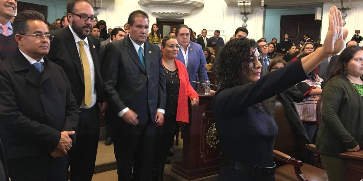 Mónica López Moncada asume jefatura de Venustiano Carranza