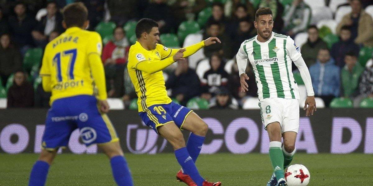 Andrés Guardado, eliminado con Betis de la Copa del Rey