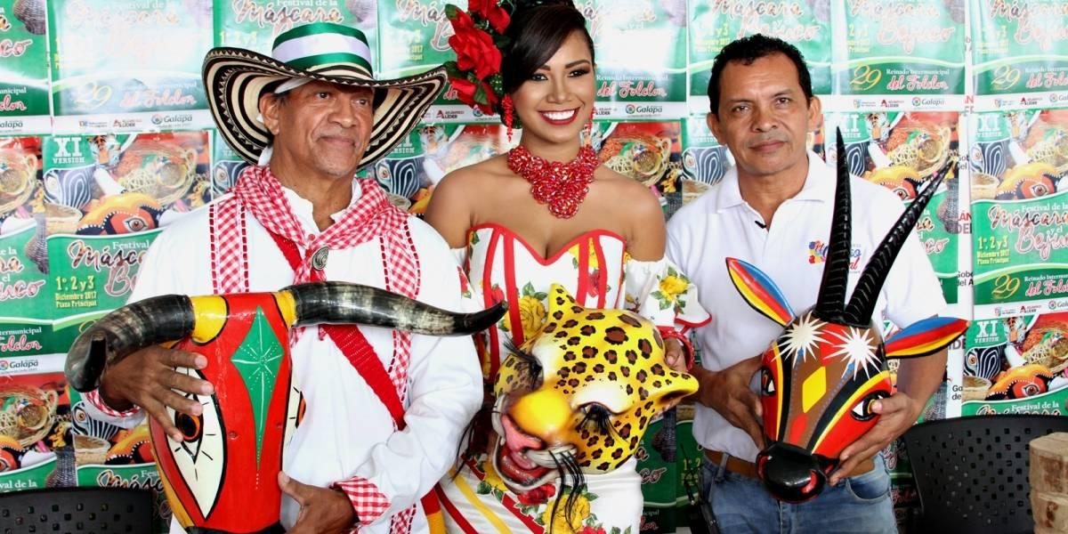 Festival de la Máscara y el Bejuco este fin de semana en Galapa, Atlántico
