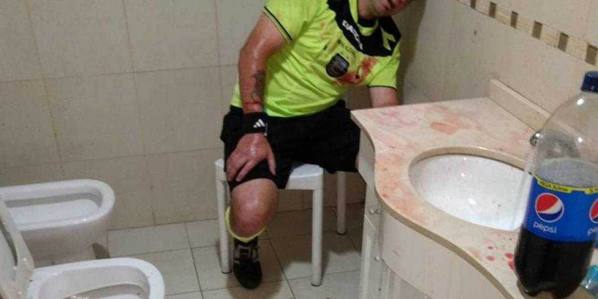 Árbitros fueron salvajemente agredidos en el fútbol argentino