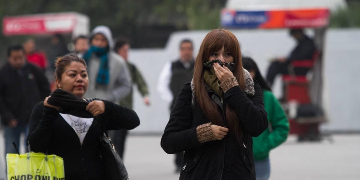 Este jueves se espera ambiente muy frío en el norte, centro y oriente del país