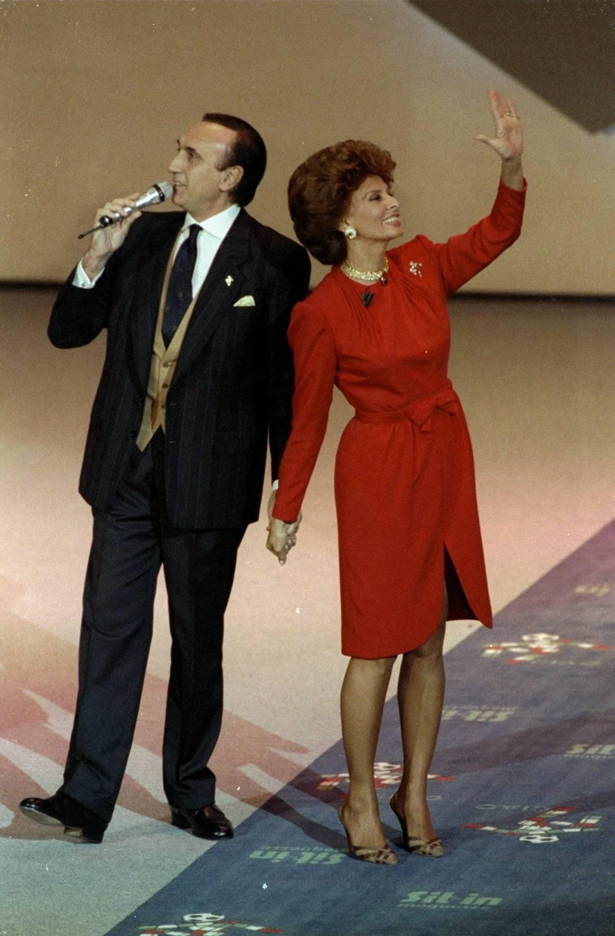 Sophia Loren fue protagonista de un sorteo / imagen: Getty Images