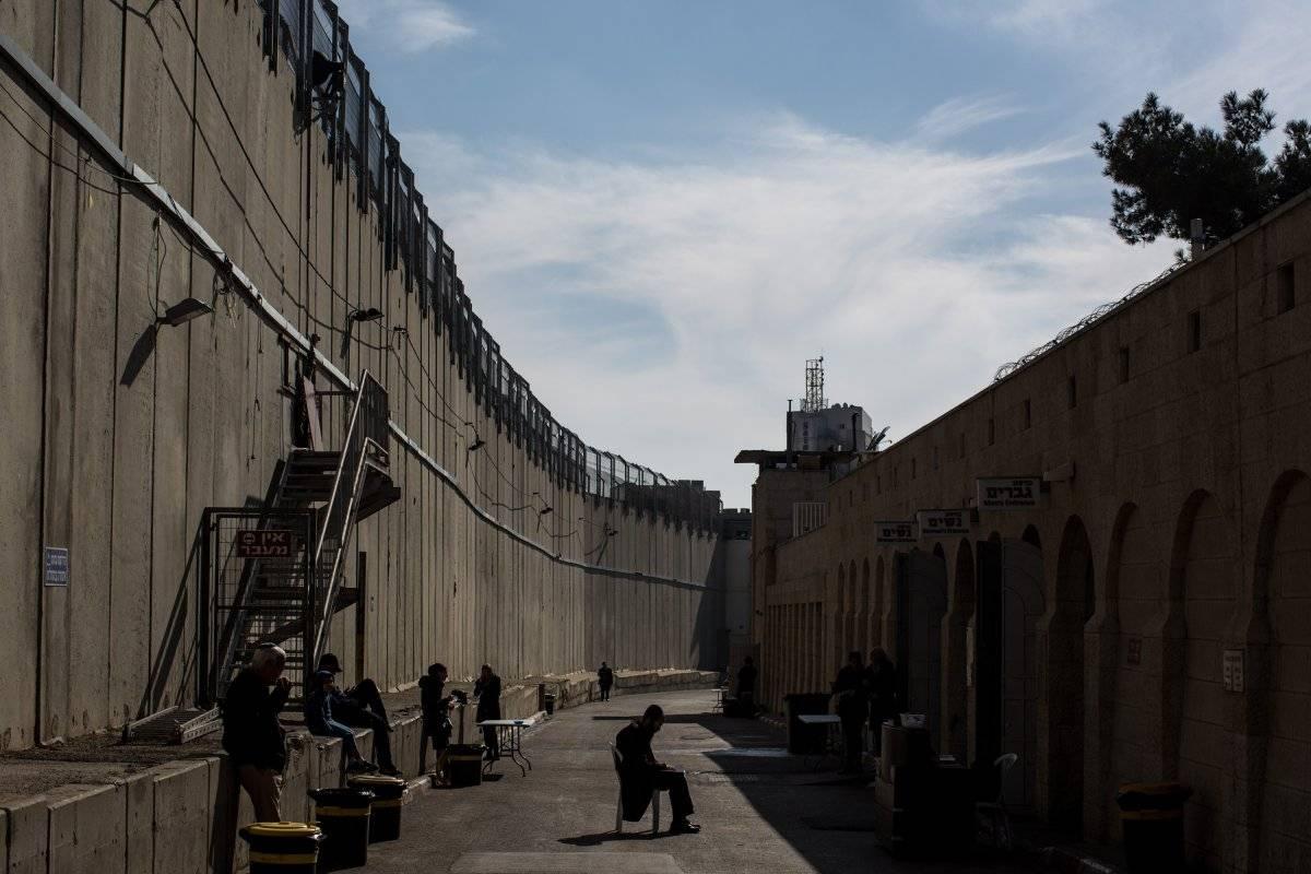 El muro en Belén.
