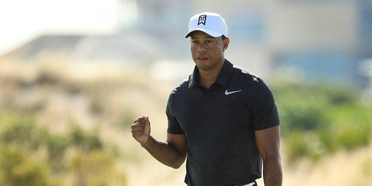 Tiger Woods deja una buena impresión en su regreso al golf