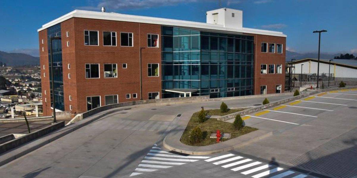 Inauguran nuevo hospital del IGSS en Quetzaltenango