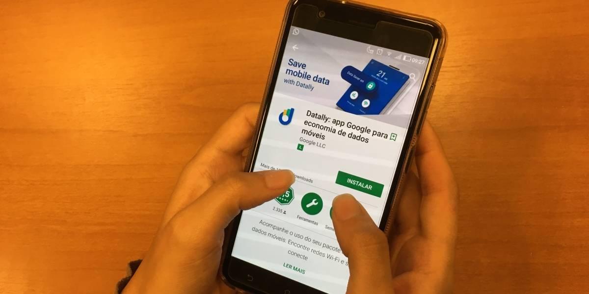 Novo aplicativo do Google ajuda a gerenciar dados de internet móvel