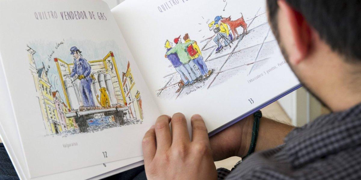 """Quiltros: el libro que retrata la """"chispeza"""" del perro callejero"""