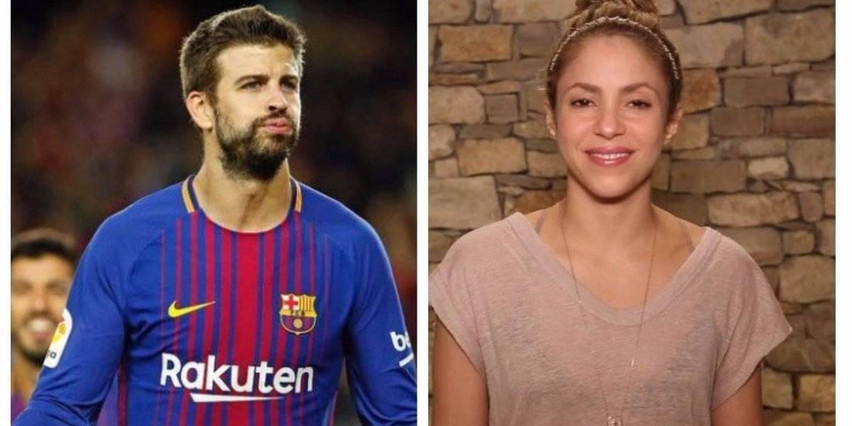 Enquanto Shakira está doente, Piqué é visto em balada