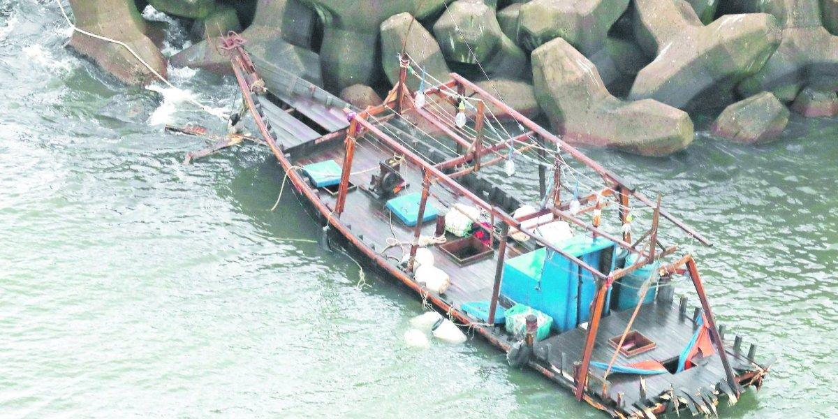 Los barcos fantasmas que han atracado en Japón