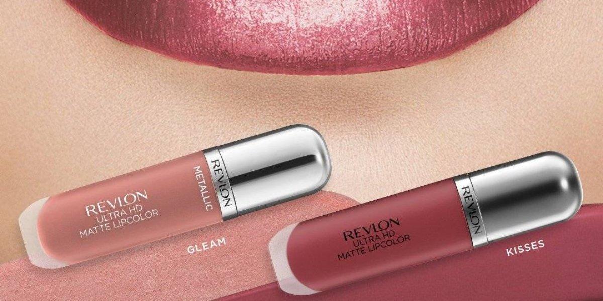 Revlon presenta nuevos labiales HD Matte Metálicos