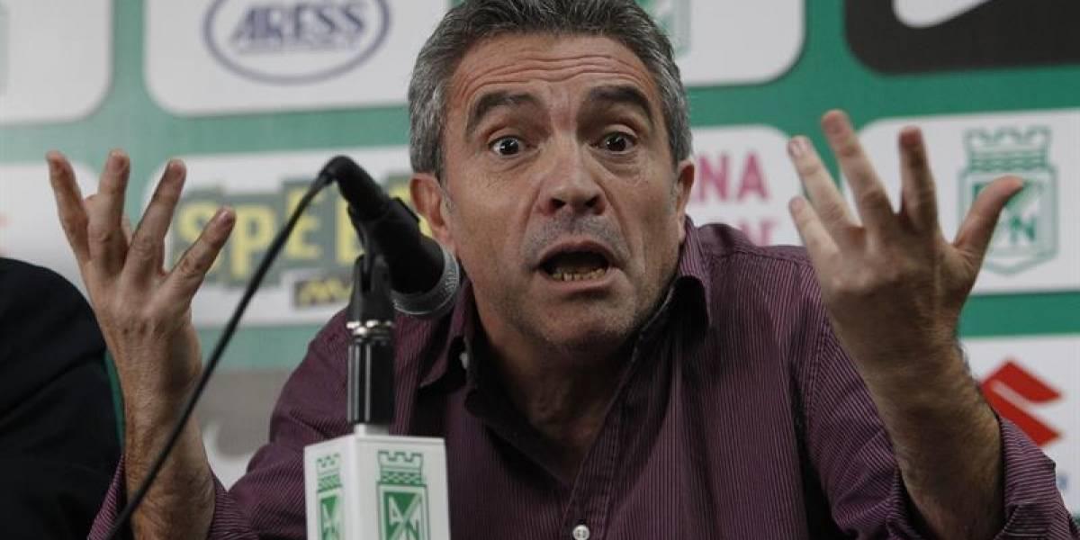 Juan Manuel Lillo no pudo llevar a Atlético Nacional a la final