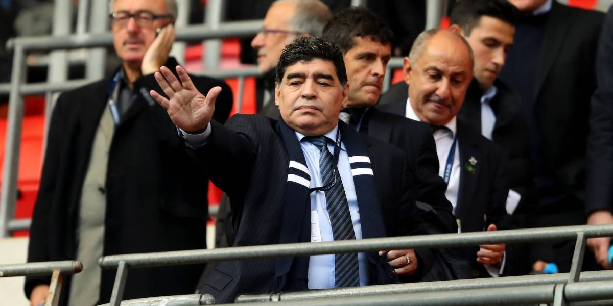 Maradona se ausentó en el ensayo y tuvo que ser atendido en su hotel