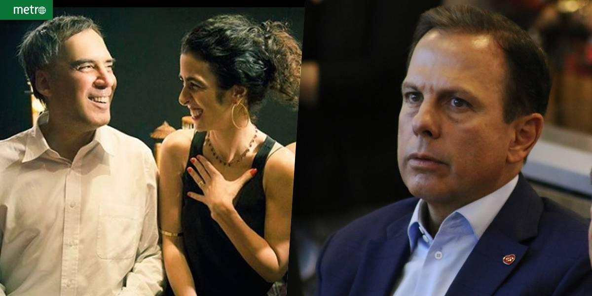 Marisa Monte e Arnaldo Antunes acusam Doria de usar música sem autorização