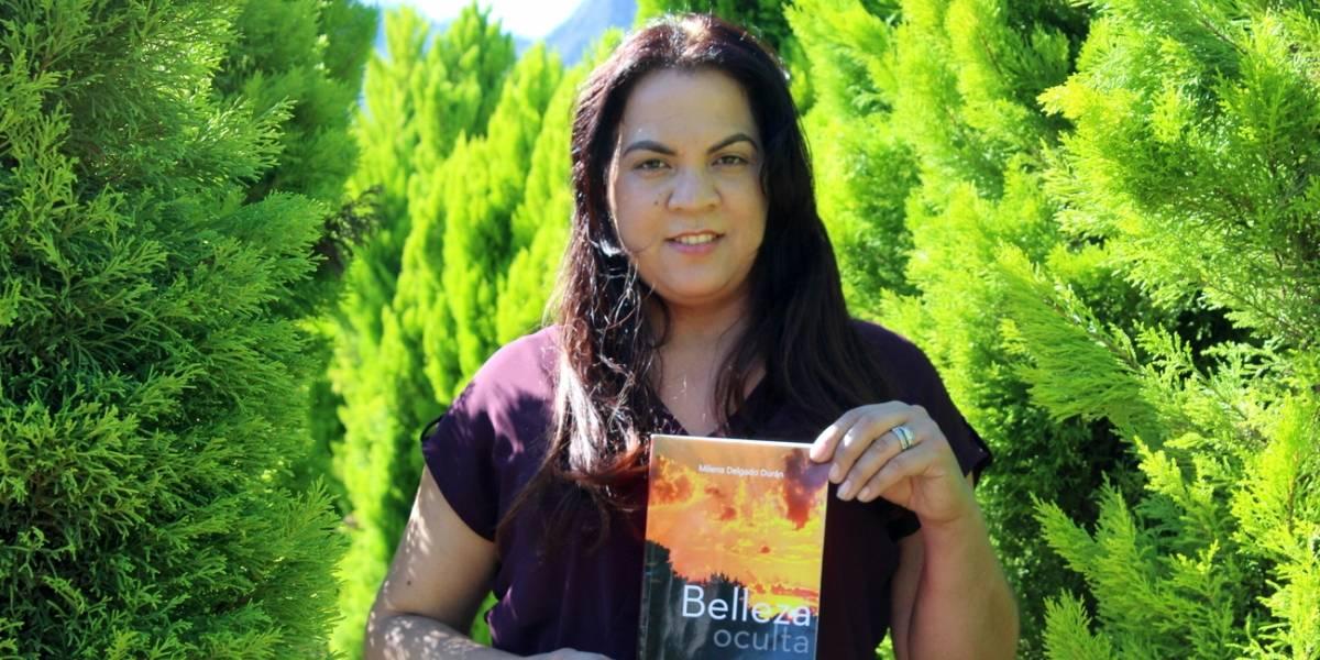 Milena Delgado presentó libro Belleza oculta