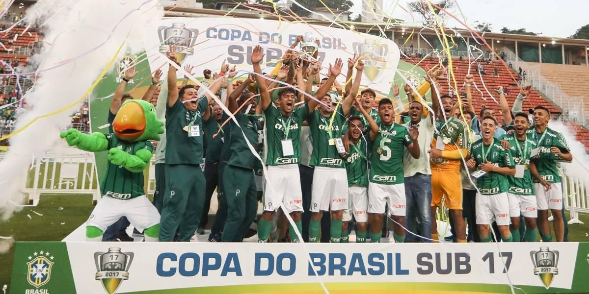 Palmeiras vence o Corinthians nos pênaltis e conquista a Copa do Brasil Sub-17