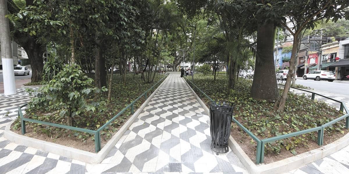 Revitalização da praça Vilaboim é finalizada