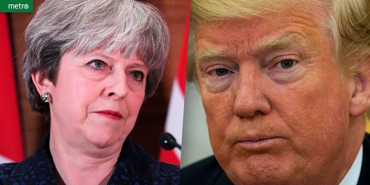 Mensagens de Trump contra muçulmanos voltam a abalar relação dos EUA com o Reino Unido