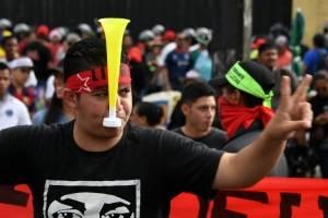 Protestas en Honduras