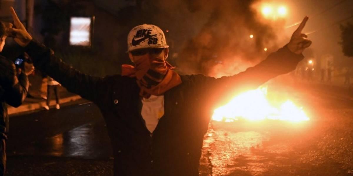 VIDEOS. Tensión en las calles de Honduras ante incertidumbre por elección