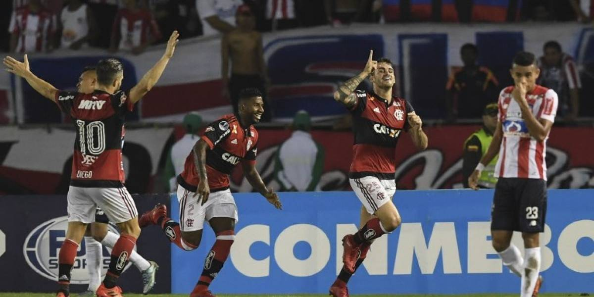 Flamengo vence a Junior sin despeinarse y se mete en la final de la Copa Sudamericana