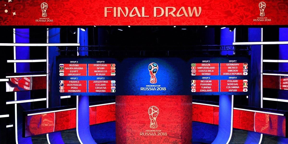 Sin cucos ni grupos de la muerte: así quedó el sorteo del Mundial de Rusia 2018