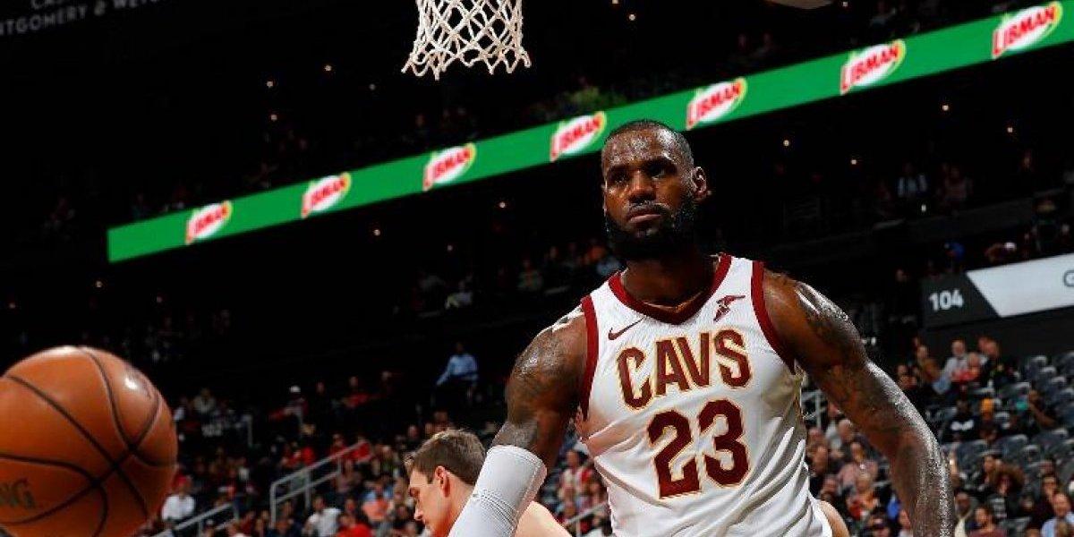 Los Cavs de LeBron James siguen imparables y ya suman 10 victorias seguidas en la NBA