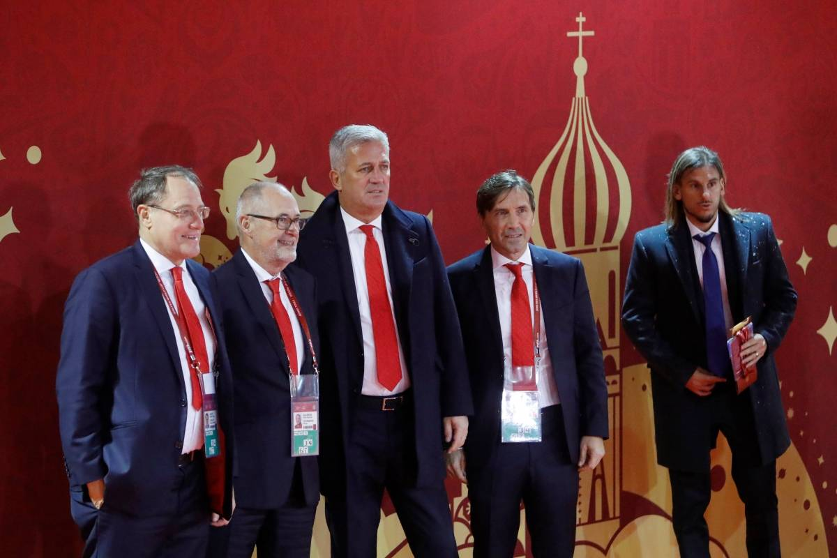 Treinador da Suíça, Vladimir Petkovic | Sergei Karpukhin/Reuters
