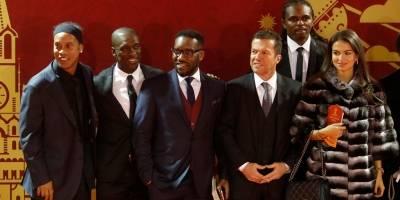 Ronaldinho, Clarence Seedorf, Jay-Jay Okocha, Lothar Matthaus e Nwankwo Kanu